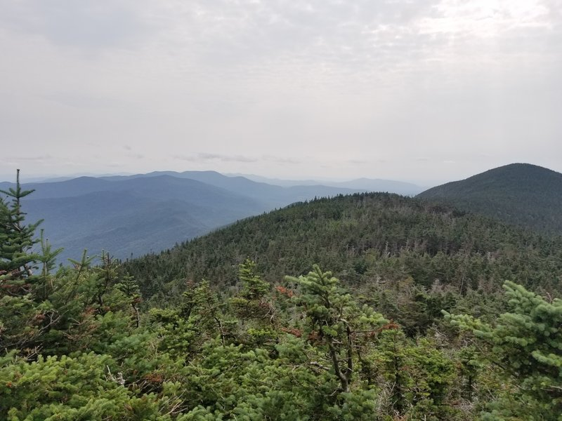 View of Mt. Abraham from Lincoln Peak