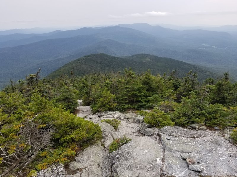 View from the summit of Mt. Abraham looking South