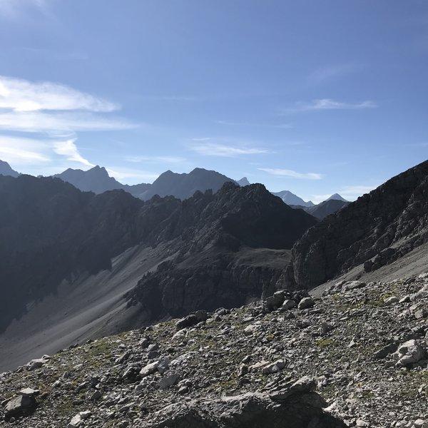 On the path to Büelenhorn