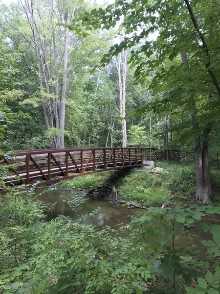 Bridge at For-Mar Nature Preserve & Arboretum