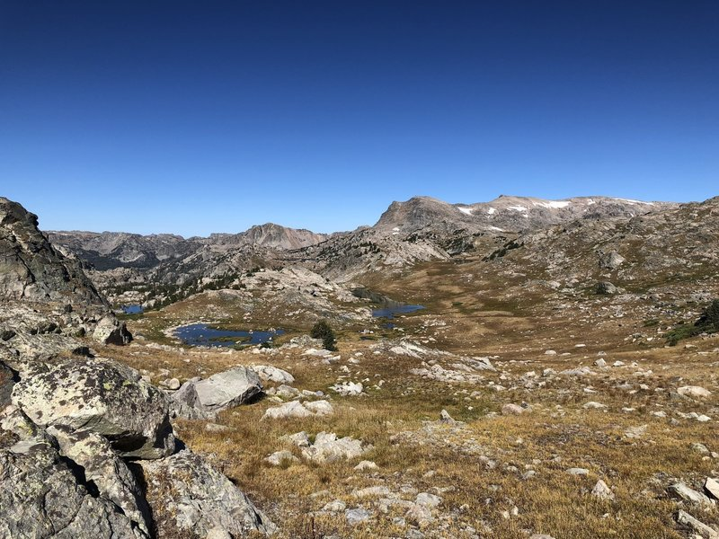 First view of Lozier Lakes
