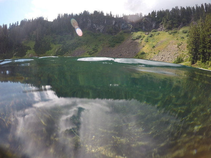 Alpine lakes like this are just beauties.