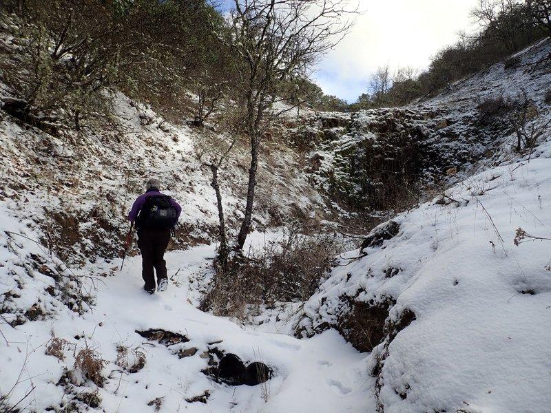 Granite Falls in winter
