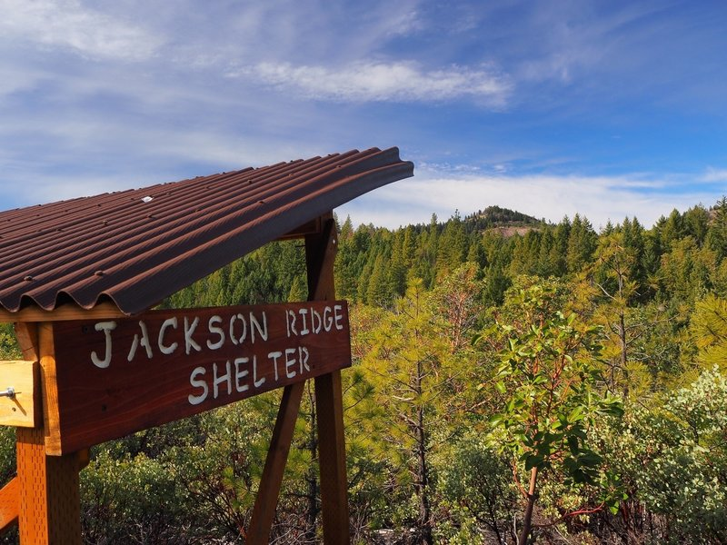 View from the Jackson Ridge Shelter