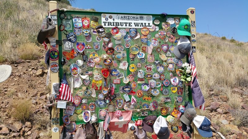 Tribute wall