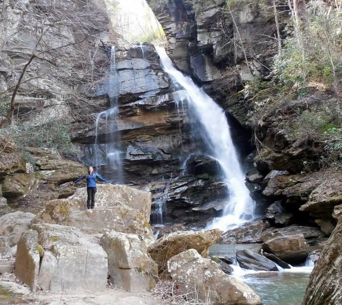 Big Bradley Falls, NC