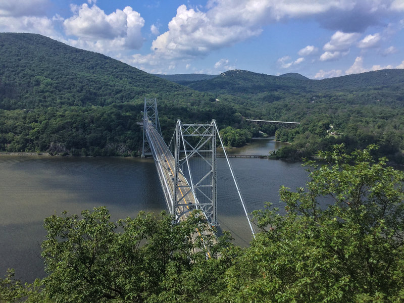 Bridge  from trail viewpoint
