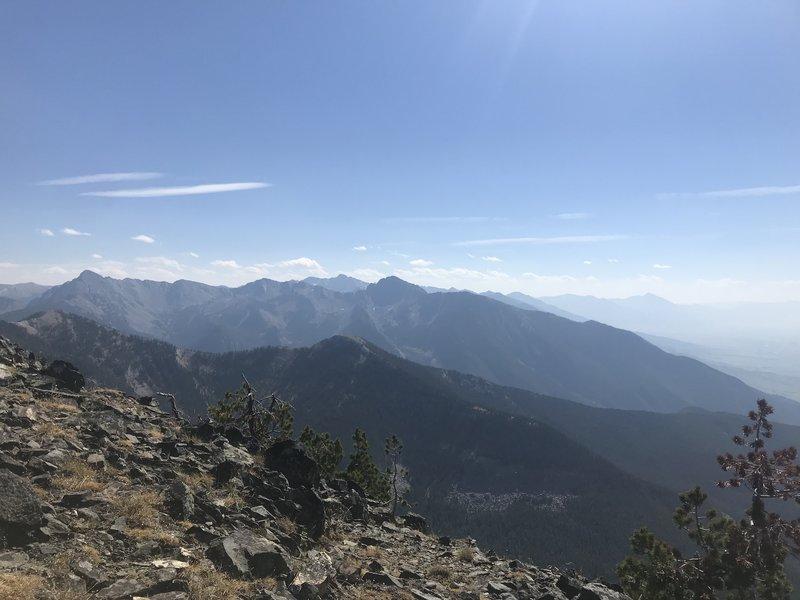 View from Livingston Peak