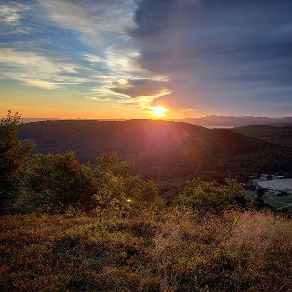 Sunrise at Mt. Rowe