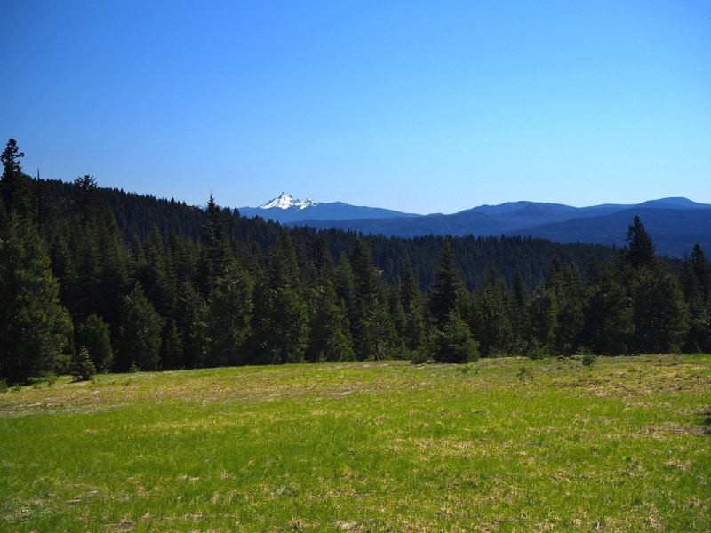 Mt. Thielsen from the meadow on Anderson Mountain