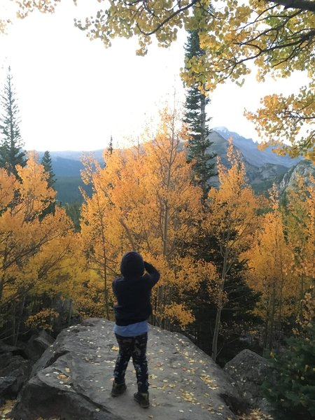 Enjoying the fall colors