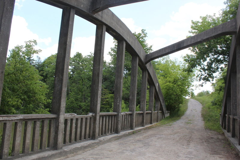 Bridge crossing on West Humber River