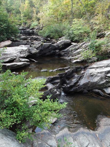 Falls on Silent Trail