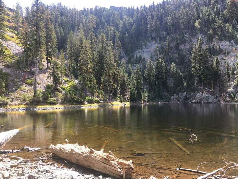 Hidden Lake, Trinity Alps Wilderness