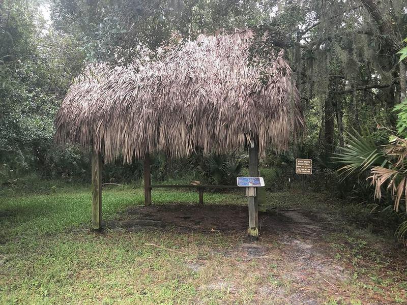 Hut along the path