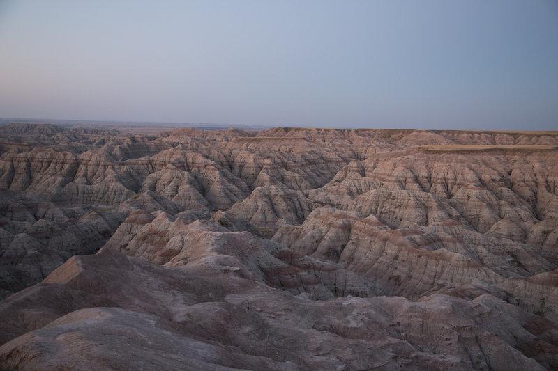 Burns Basin at sunrise