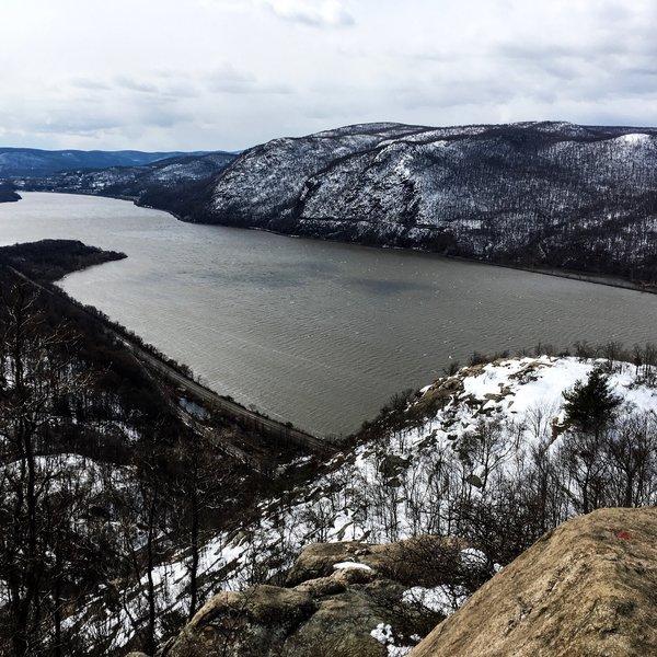 Hudson River from Breakneck Ridge