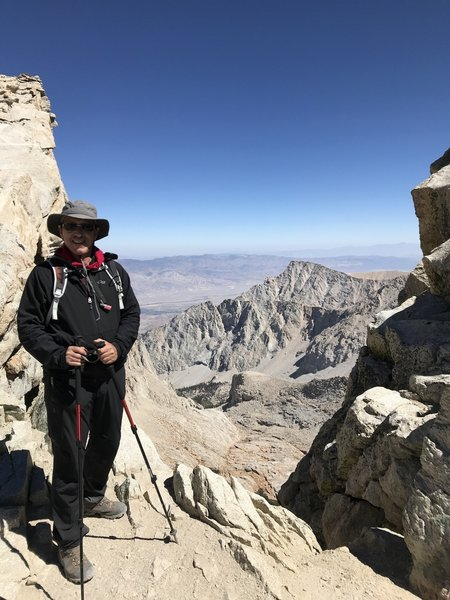 9/11/2018 @The Windows, Mt. Whitney Trail