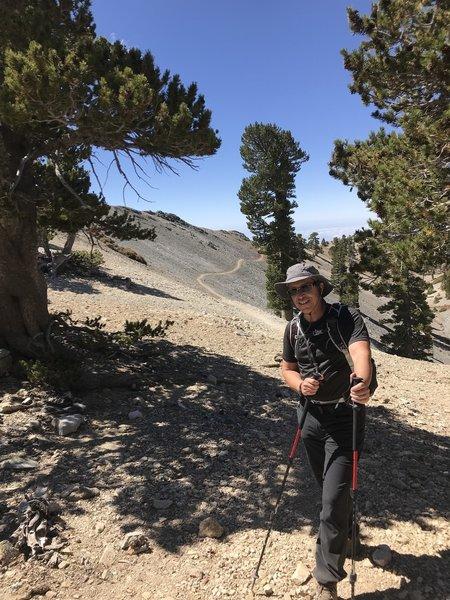 09/05/2018 on the climb to Baldy via the Bear Canyon Trail