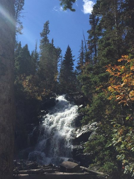 Fern Falls was well worth the extra little trek off of the Cub Lake Loop 09/18/18