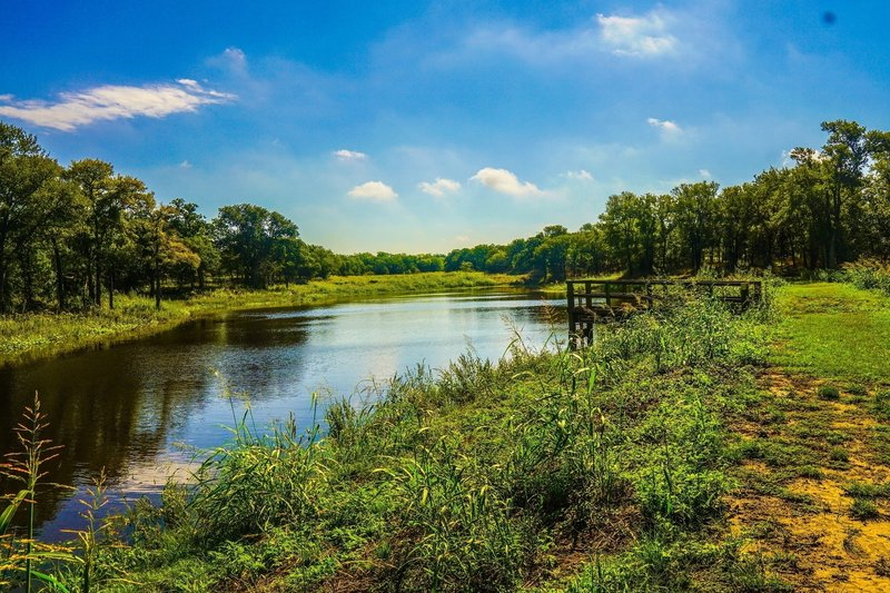The Crawfish Pond is a rewarding payoff for a short hike.