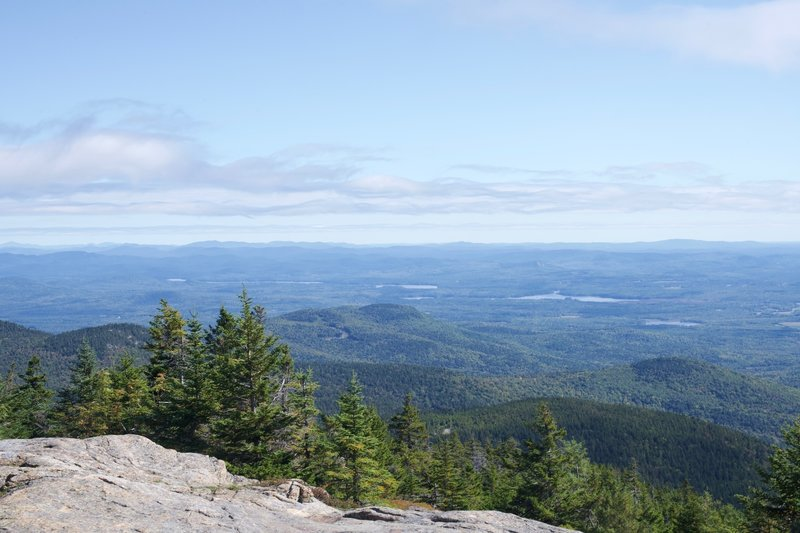 The views from the top are stunning. You can see into Maine and New Hampshire from the top. You can see the lakes and mountains that the area is known for.