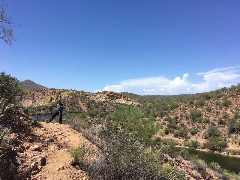 Butcher Jones Trail-Saguaro Lake, Arizona