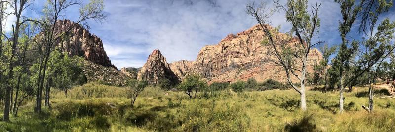 Pine Creek Trail Redrock Canyon Nevada