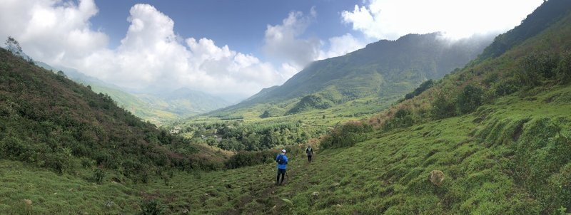 One of the best views on the VMM trail races, viewing the whole valley landscape