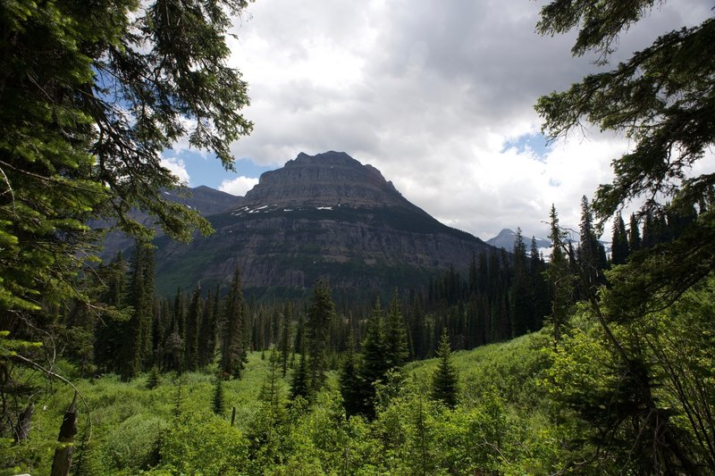 You get a great view of Citadel Mountain from Florence Falls.