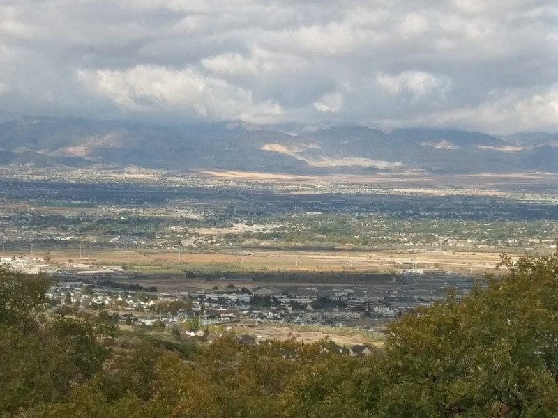 Views from South Mountain Overlook