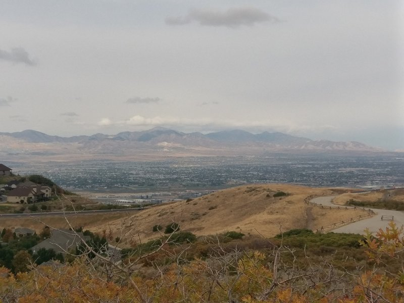 Draper views from the Little Valley Overlook