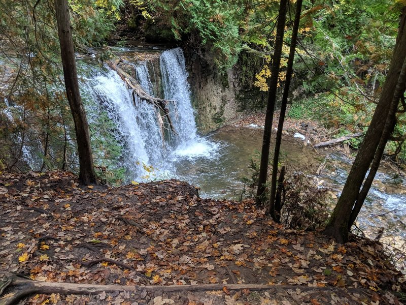 Hogg's Falls during fall