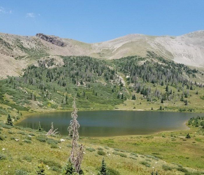Archuleta Lake Below Mount Hope