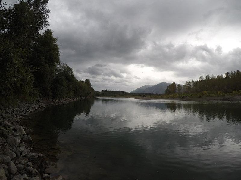 The Skagit River.