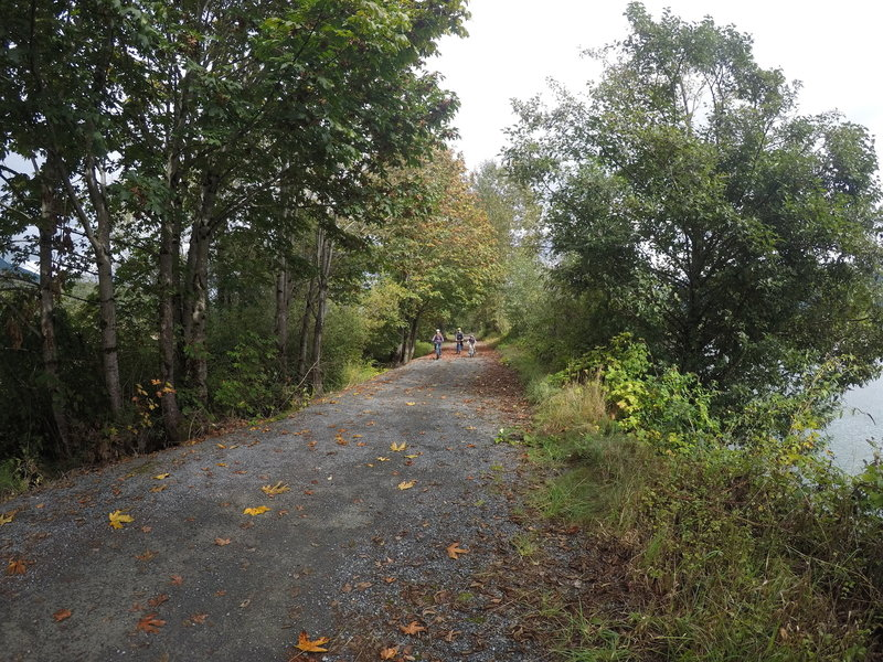 The trail is breathtakingly pretty in the fall.