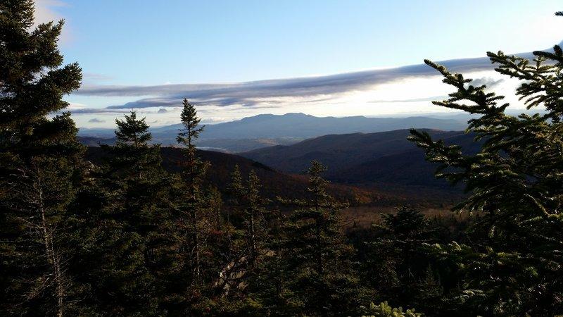 False Summit along the Long Trail