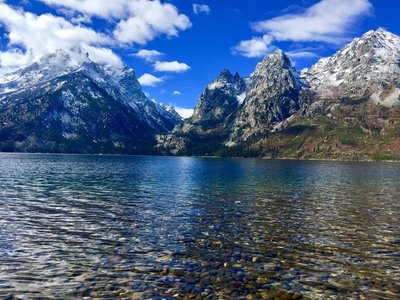 Jenny Lake Hiking Trail Jackson Wyoming