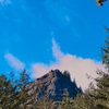 The iconic Rattlesnake Ledge ... a view from near the trailhead