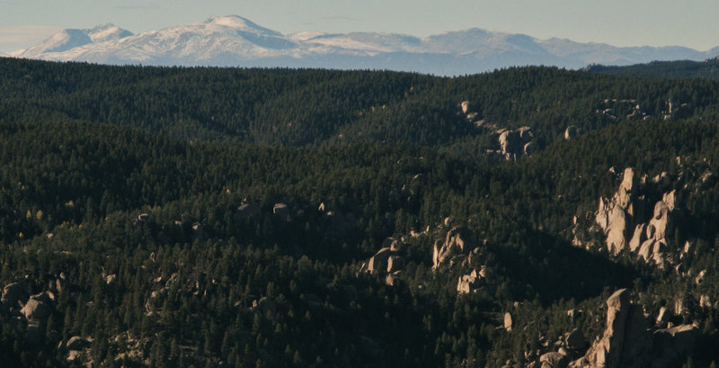 View from Mt Herman (with a long lens)