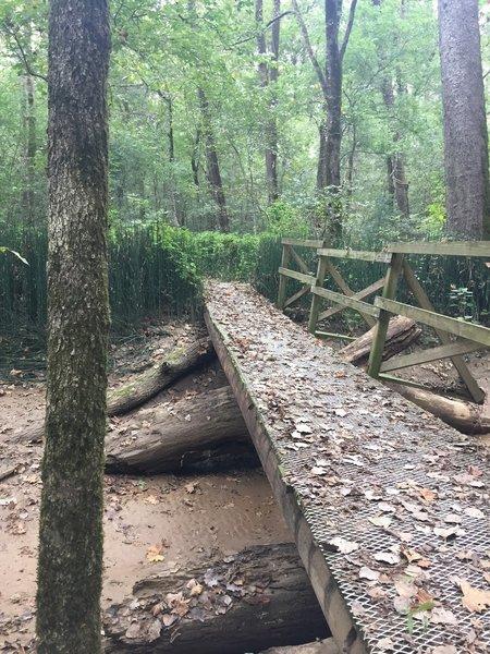 Bridge on Pioneer Springs Trail