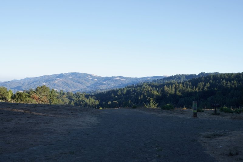 The view is pretty good from the intersection of the Meadow Trail and Bear Gulch Trail.