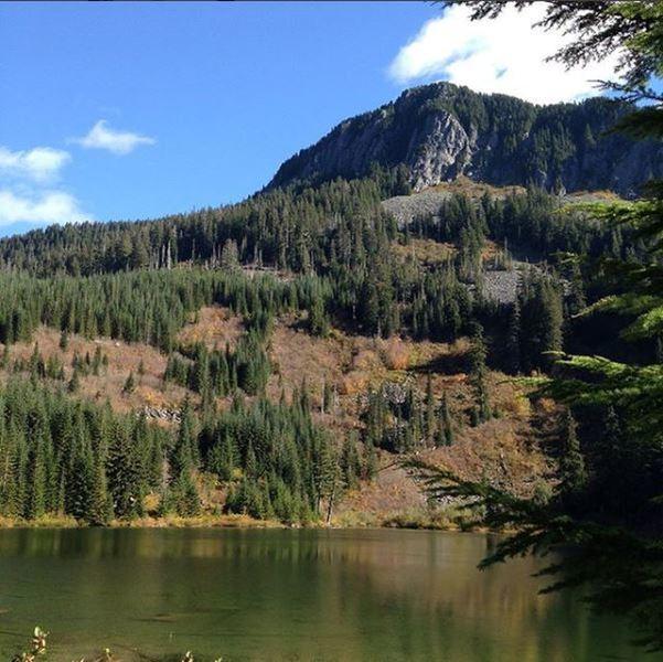 Upper Granite Lake looking southeast