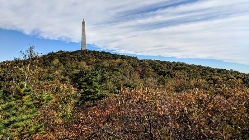 The 220 foot tall High Point Monument was built in 1930 as war memorial, and marks the highest elevation in the state of New Jersey.