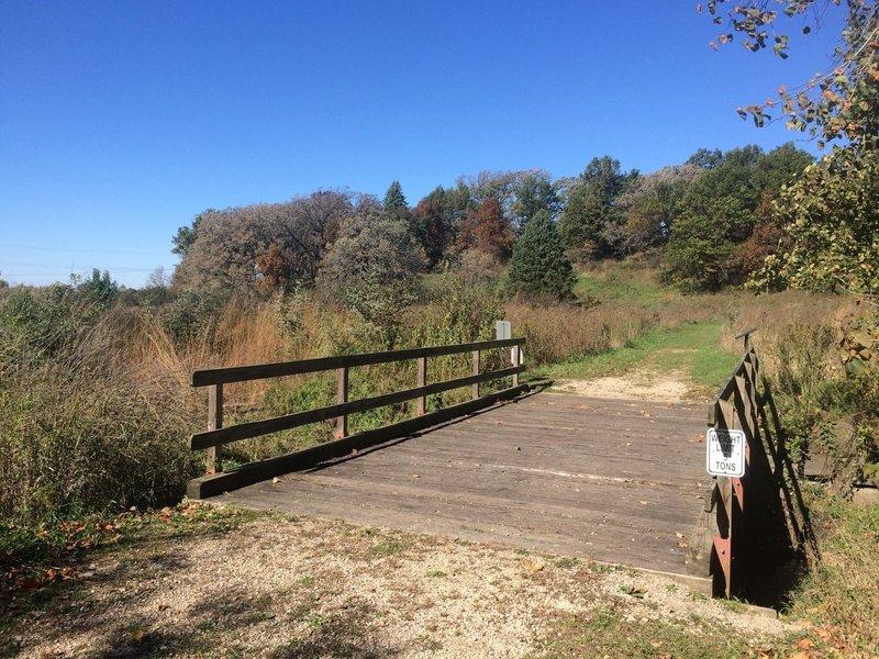 Bridge over Laughing Creek
