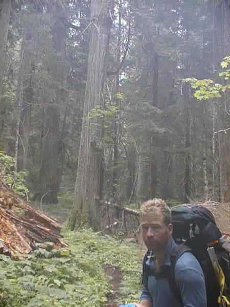 On Big Beaver Trail back in 1996!