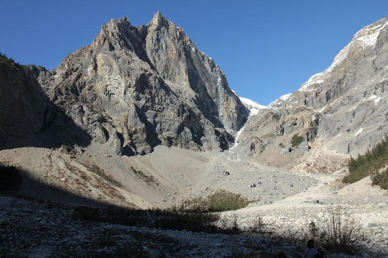 Mount Marpole in Emerald Basin.