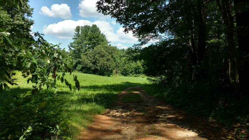 Hill Side Trail is off to left; what you see is the Litchfield Loop.