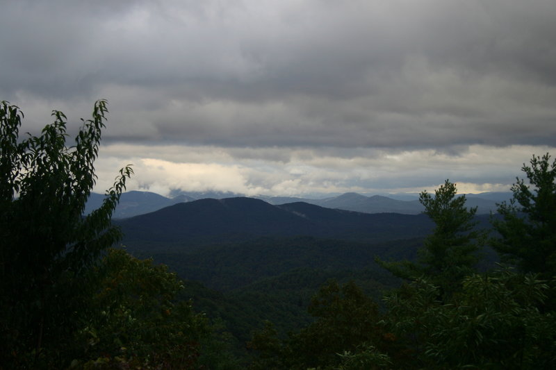 View from Potatopatch Mountain