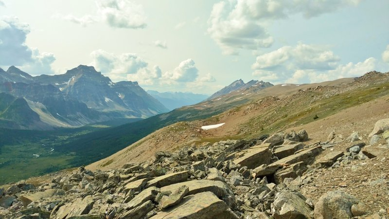 Along the Great Divide Trail (GDT). The Great Divide Trail Association (GDTA) of Calgary, Alberta maintains, promotes, and preserves the GDT.